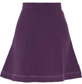Carven Cotton-Blend Matelassé Mini Skirt