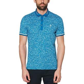 Original Penguin Hiking Print Golf Polo