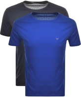 Emporio Armani 2 Pack Crew Neck T Shirts