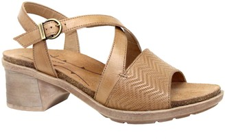Dromedaris Adjustable Leather Strap Sandals - Sienna