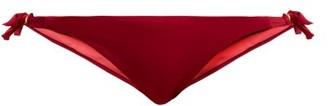 Biondi - Ria Side-tie Bikini Briefs - Burgundy