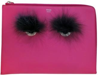 Fendi Pink Leather Handbags
