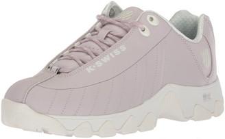 K-Swiss Women's ST329 CMF Sneaker Gray Lilac/Marshmallow 6 M US