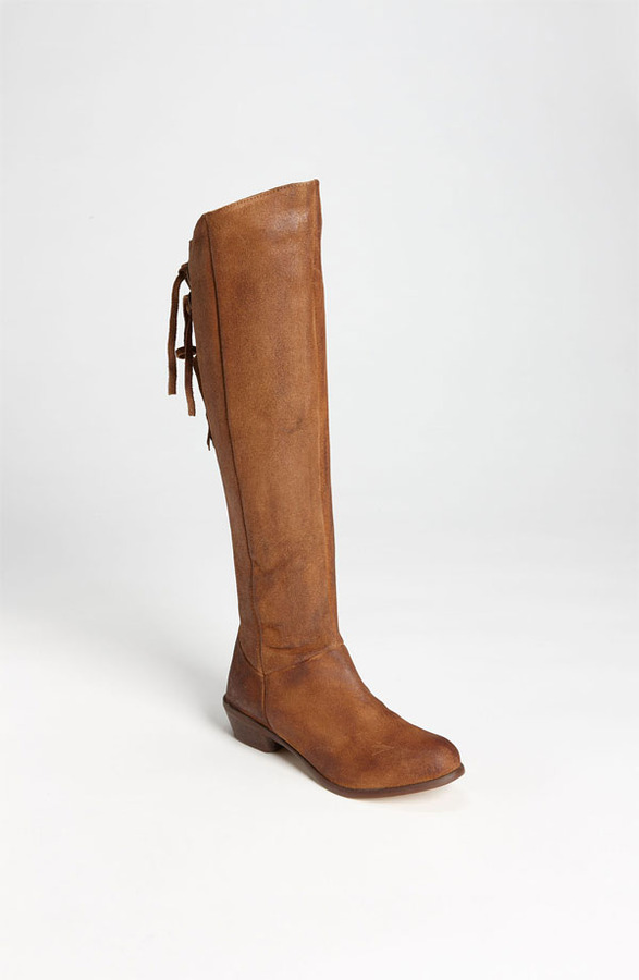 Naughty Monkey 'Bullet' Over the Knee Boot