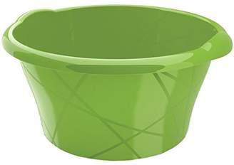 Kis Round Bowl, Green, 16 Litre