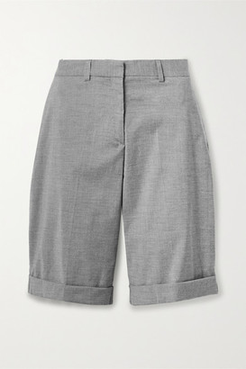 GAUGE81 Aruba Wool-blend Shorts - Gray