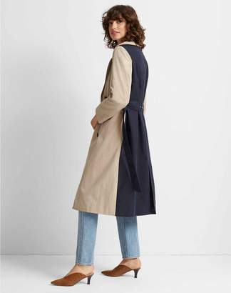 Club Monaco Colorblock Trench