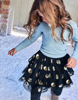 Boden Sequin Tulle Skirt