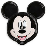 Disney Mickey Mouse Face Clip Plate Meal Time Magic Collection