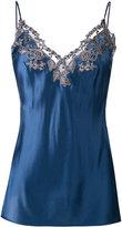 La Perla lace trim camisole - women - Silk/Polyamide/Polyester/Viscose - 3