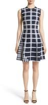 Victoria Beckham Women's Intarsia Tartan Check Dress