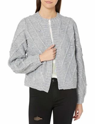 Lucky Brand Women's Bobble Cardigan Sweater