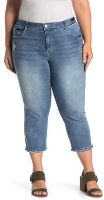 Democracy Luxe Straight Leg Jeans (Plus Size)