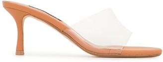 Senso Open Toe Transparent Sandals