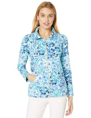 Lilly Pulitzer Women's Leona UPF 50+ Zip-UP
