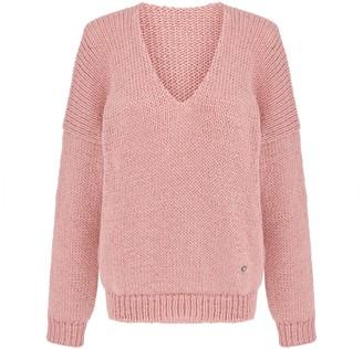 You By Tokarska Mia V-Neck Sweater Light Pink