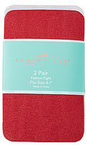 Copper Key 2-Pack Glitter Opaque Tights