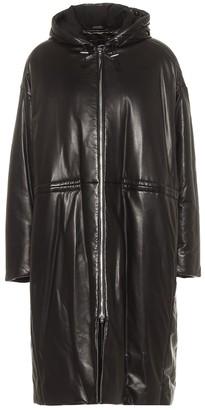 Joseph Cocon padded leather coat