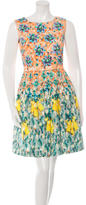 Mary Katrantzou Floral Print A-Line Dress