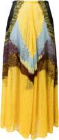 Jil Sander asymmetric knitted skirt