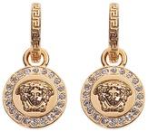 Versace Greca and Medusa Drop Earring