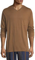 Hanro Long-Sleeve Pocket T-Shirt