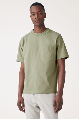 Cos Organic Cotton Patch Pocket T-Shirt