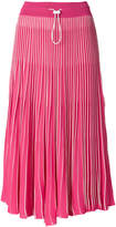 Valentino pleated midi skirt