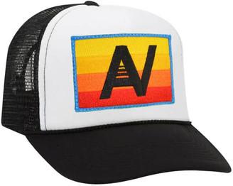Singer22 Logo Rainbow Low Rise Trucker Hat