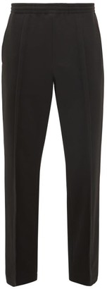 Maison Margiela Pleated Jersey Track Pants - Mens - Black