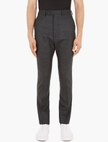 Officine Generale Grey Flannel Jacques Trousers