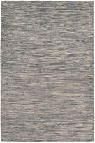 Liora Manné Java Indoor/Outdoor Lamar Navy Flatweave 2' x 8' Runner Rug