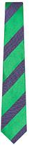 Duchamp Kingston block stripe tie
