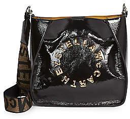 Stella McCartney Women's Mini Stella Logo Patent Shoulder Bag