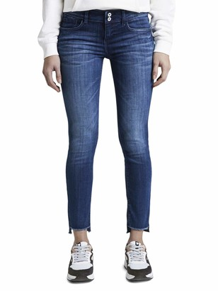 Tom Tailor Women's Carrie Slim Ankle Jeans