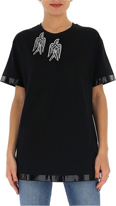 N°21 N21 Embellished Swallow T-Shirt