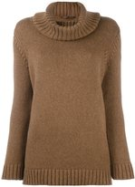 Agnona cashmere turtleneck jumper - women - Cashmere - 38