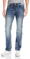 Buffalo David Bitton Men's Evan Slimmer Fit Straight Leg Jean