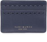 Tory Burch Block T Brogue Slim Card Case