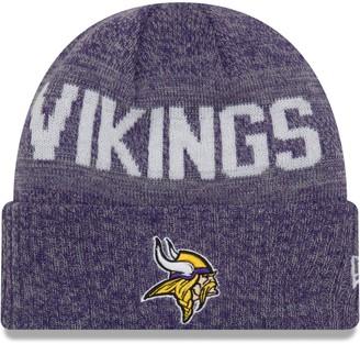 New Era Toddler Heathered Purple Minnesota Vikings Crisp Colored Cuffed Knit Hat