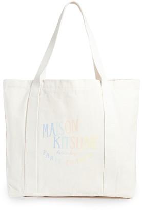 MAISON KITSUNÉ Shopping Bag Rainbow Palais Royal