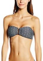 Bjorn Borg Women's Halterneck Bikini Top - Black - 34B