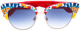 Dolce & Gabbana Mambo print sunglasses