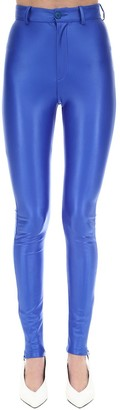 ATTICO Lycra Lame Legging Pants