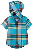 Tea Collection Flynn Hooded Shirt (Baby & Toddler Boys)