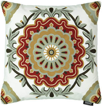 "Mod Lifestyles Southwest Collection Medallion Embroidery Pillow, 20"" X 20"""