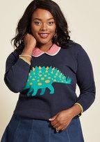 ModCloth Snazzy 'Saurus Sweater in XXS