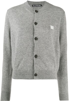 Acne Studios Crew-Neck Wool Cardigan