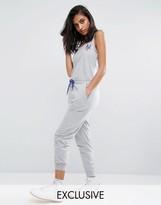 Majestic New York Mets Grey Jumpsuit