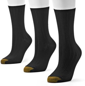 Gold Toe GOLDTOE 3-pk. Ultrasoft Crew Socks - Women